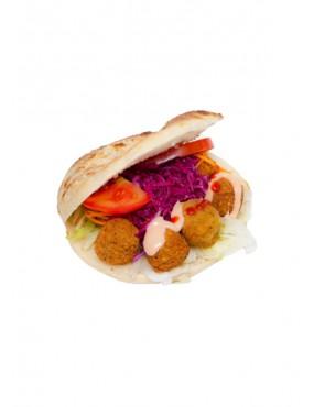 Falafel in pocket bread