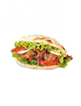 Kebab in pocket bread