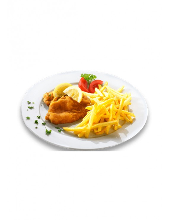 Chicken escalope plate