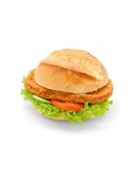 Chicken escalope in pocket bread