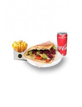 Savings Menu 2 (kebab + fries with drink)