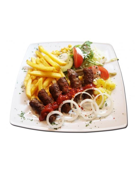 Cevapcici (6 pcs) plate