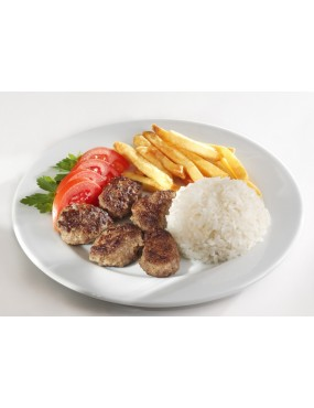 Köfte skewer (2 pieces) plate